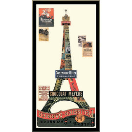 Коллаж EIFFEL TOWEL, арт. NWI.PCT.AC.19, NEW IMPRESSION