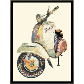 Коллаж VESPA, арт. NWI.PCT.AC.25, NEW IMPRESSION